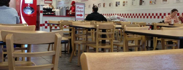 Five Guys is one of Foraging in Alexandria.