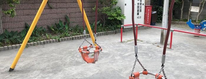 初音児童遊園 is one of 神輿で訪れた場所-1.