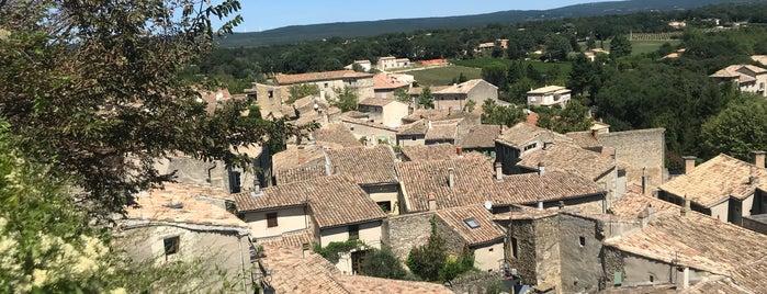 Grignan is one of Les plus beaux villages de France.