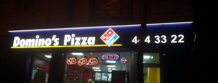 Domino's Pizza is one of Posti che sono piaciuti a Melike.
