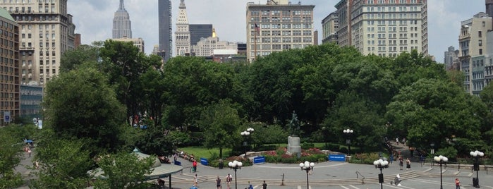 Union Square Park is one of Lugares donde estuve en el exterior.