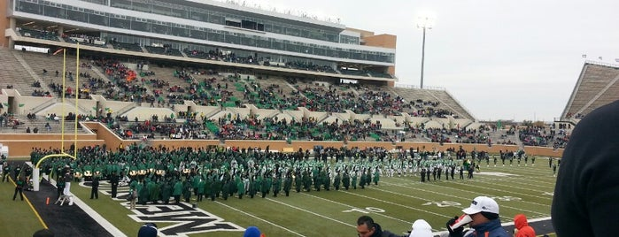 Apogee Stadium is one of College Football Stadiums in Texas.