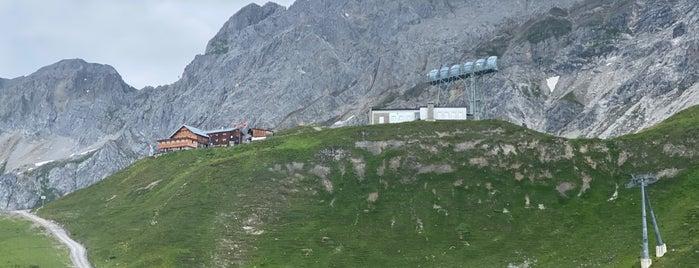 Ulmer Hütte is one of Europe.