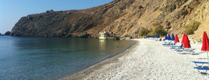 Sweet Water Beach is one of Crete.