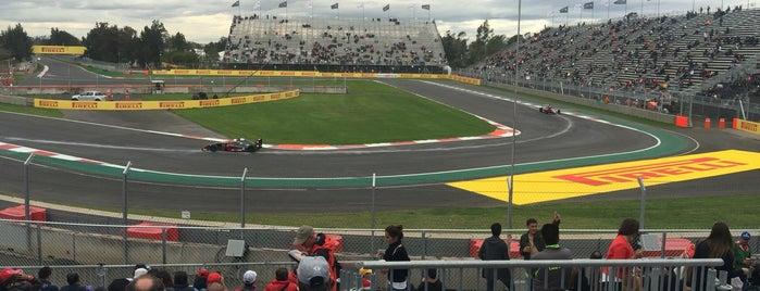 Autódromo Hermanos Rodríguez is one of Marco Antonio 님이 좋아한 장소.