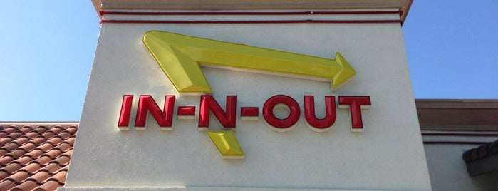 In-N-Out Burger is one of Lieux qui ont plu à Lauren.