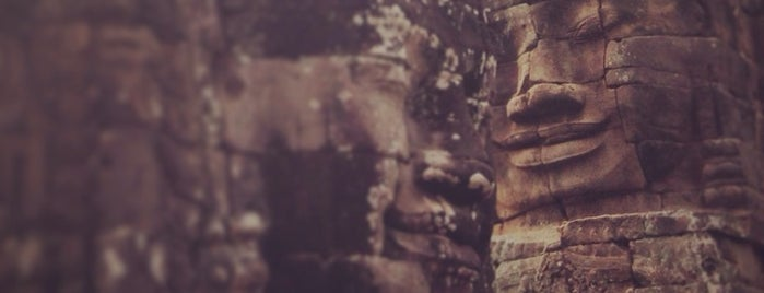 Bayon Temple is one of Cambodia.