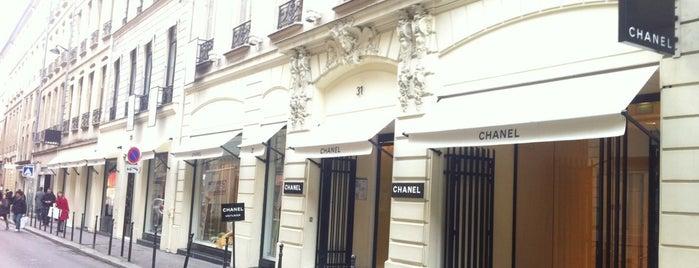 Chanel is one of Paris - best spots! - Peter's Fav's.