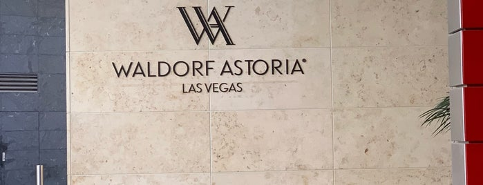 Waldorf Astoria Las Vegas is one of Waldorf Astoria.
