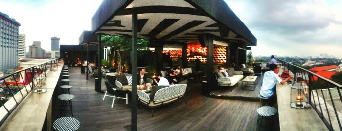 BART - Bar At The Rooftop is one of Jakarta B4.