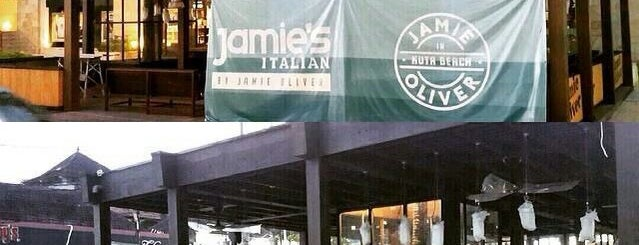 Jamie's Italian by Jamie Oliver Kuta Beach is one of Lugares favoritos de Simo.