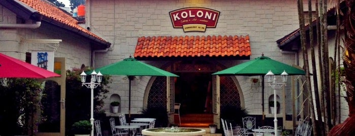 KOLONI 108 (EATERY & CRAFTER - VENTURE) is one of What happens when food-addict strikes in Bandung.