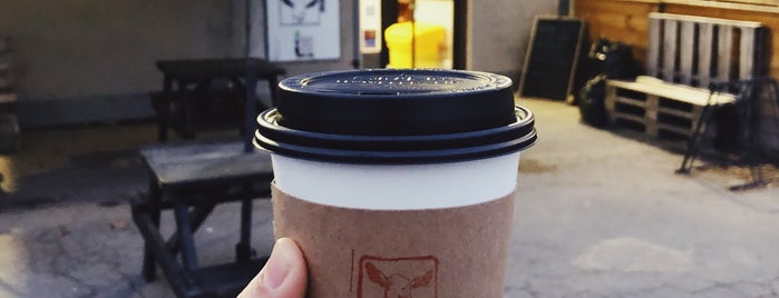 Happy Goat Coffee Co. is one of Ottawa for FWD50.