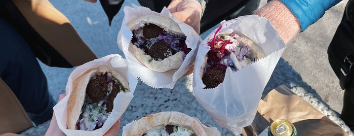 Falafel Yoni is one of Montreal.