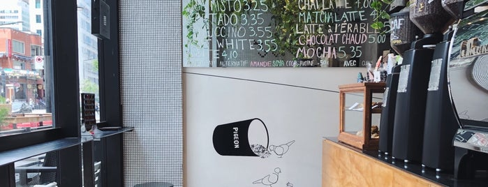 Pigeon Espresso Bar is one of montreal 2019.