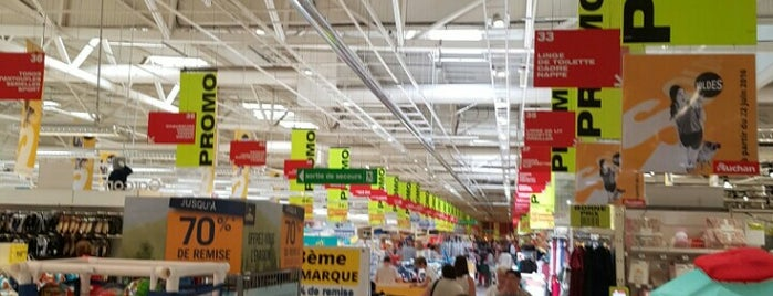 Auchan is one of Lugares favoritos de Ralf.