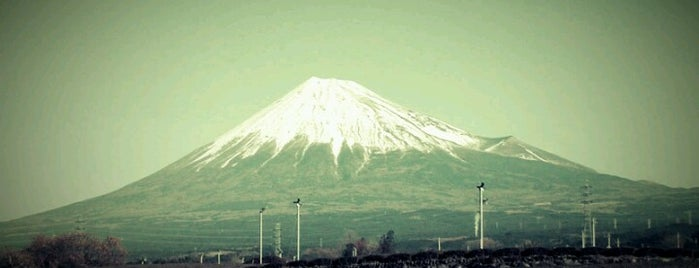Mt. Fuji is one of World Heritage Sites!!!.