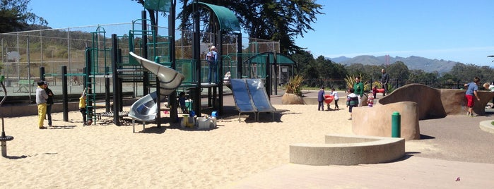 Julius Kahn Playground & Clubhouse is one of Kids SF.