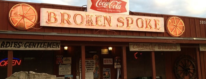 Broken Spoke is one of Austin Explorations.