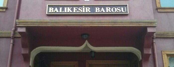 Balıkesir Barosu is one of tavsiye ederim.....