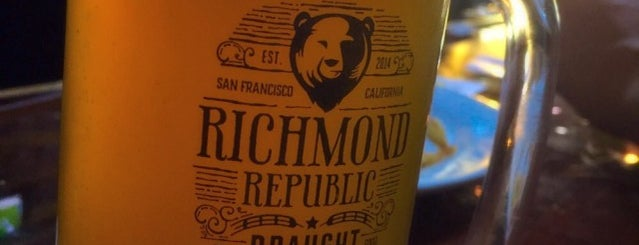 Richmond Republic Draught House is one of Beer 47 Craft Beer Guide to SF.