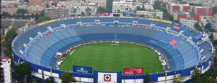 Estadio Azul is one of René 님이 좋아한 장소.