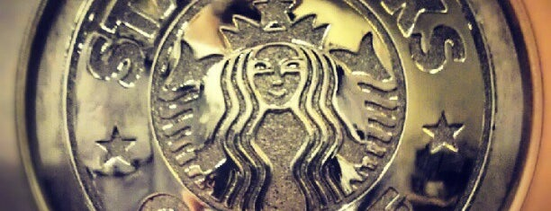 Starbucks is one of Orte, die Serkan gefallen.