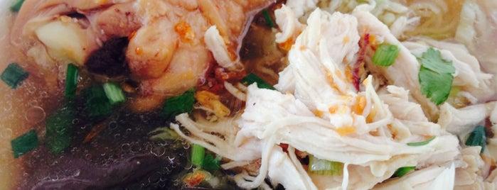 ก๋วยเตี๋ยวไก่บางบัว is one of BKK_Noodle House_1.