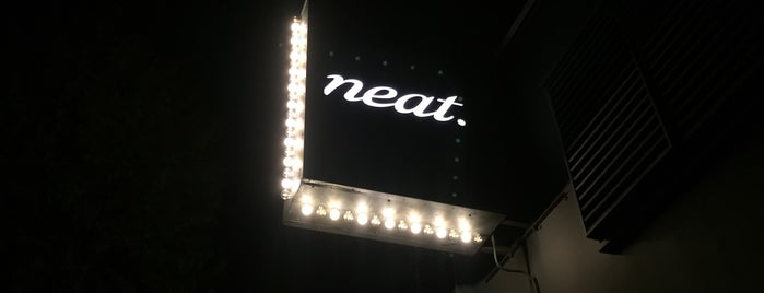Neat is one of Lugares favoritos de Joe.