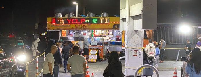 Leo's Taco Truck is one of LA.