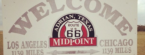 Route 66 MidPoint is one of Historic Route 66.