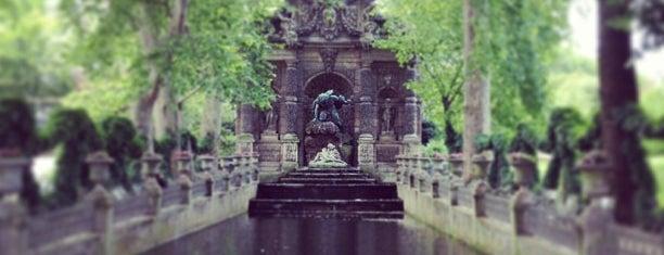 Jardin du Luxembourg is one of Fleur's Paris.