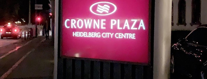 Crowne Plaza Heidelberg City Centre is one of HD Places-To-Be.