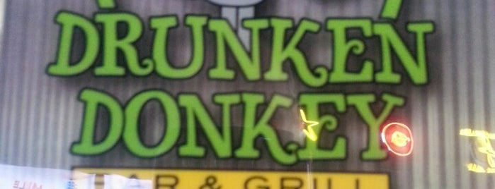 Drunken Donkey Bar and Grill is one of Russ's Liked Places.
