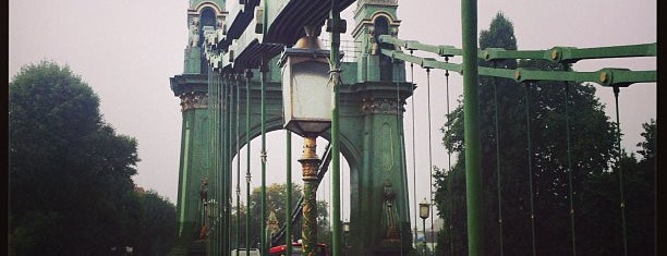 Hammersmith Bridge is one of Tuğrul 님이 좋아한 장소.