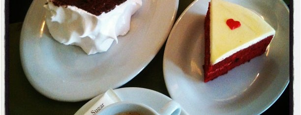 The Chocolate Kiss Café is one of My favorites for Dessert Shops.