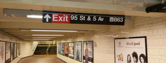 MTA Subway - Bay Ridge/95th St (R) is one of Only Me.