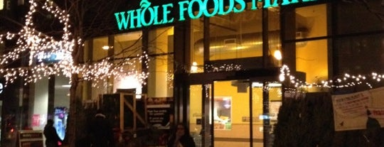Whole Foods Market is one of Weekly shopping.