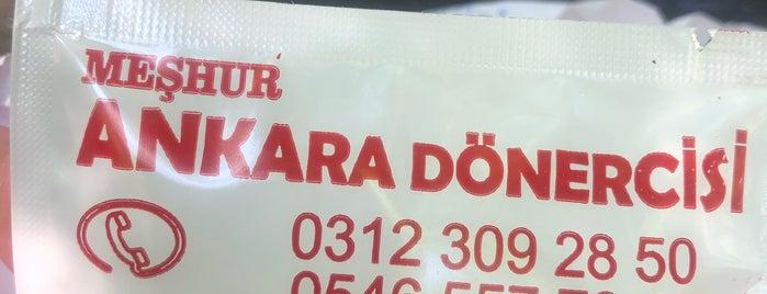Meşhur Ankara Dönercisi is one of Ankara.