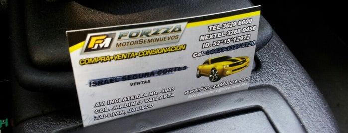 Forza MotorSeminuevos is one of สถานที่ที่ César ถูกใจ.