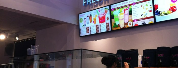 YoYo! Fresh Tea Bar is one of New Amsterdam.