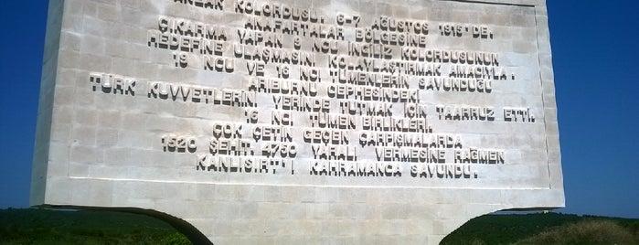 Kanlı Sırt Anıtı is one of * GEÇİYORDUM UĞRADIM *.