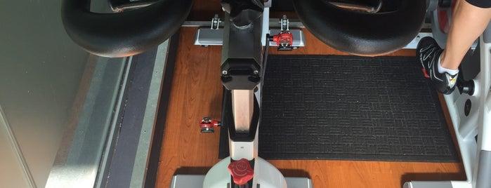 Crank Indoor Cycling Studio is one of ClassPass.