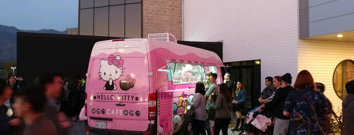 Hello Kitty Cafe is one of LA.