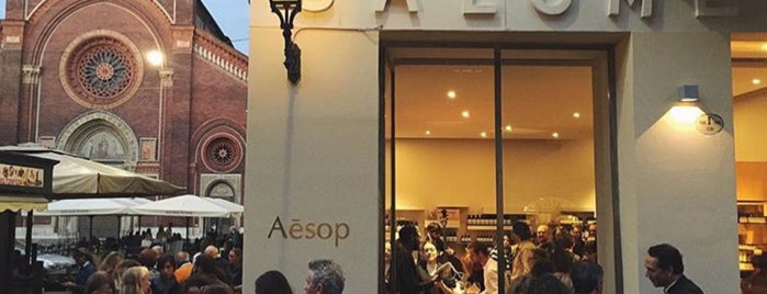 Aēsop Brera is one of Milan.
