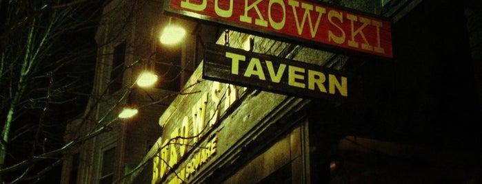 Bukowski Tavern is one of Beantown.