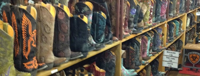 Allens Boots is one of Austin.