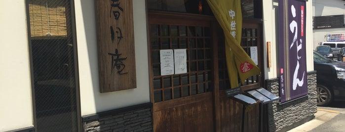 中世博多うどん 春月庵 承天寺前店 is one of うどん 行きたい.