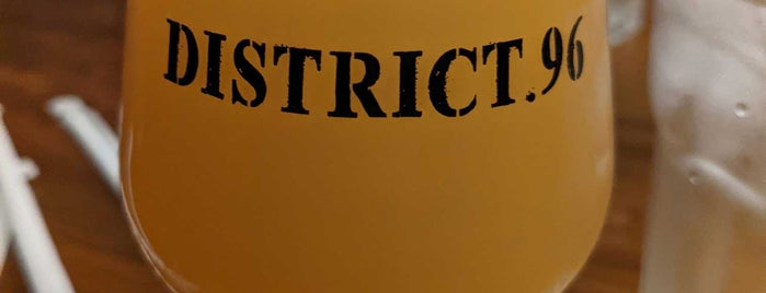 District 96 Beer Factory is one of Breweries.