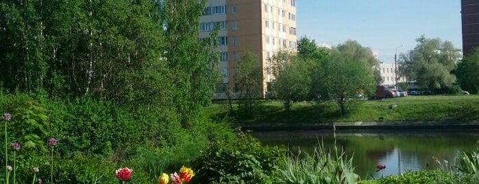 Экспериментальный квартал ул. Пионерстроя is one of Rostislavさんのお気に入りスポット.